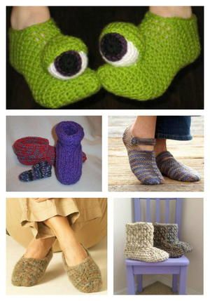 www.favecrafts.com tag Crochet-Slippers-Patterns