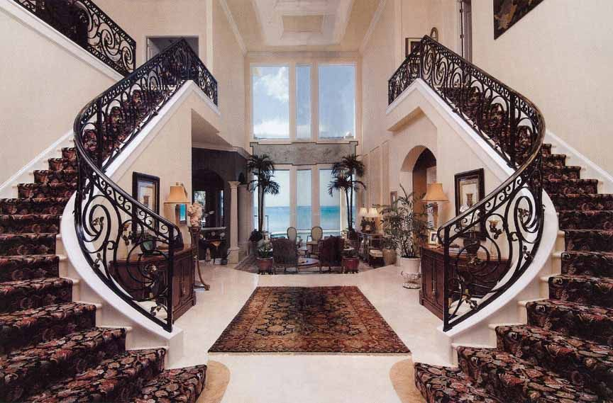 Best Double Staircase House Plans The Straight Run Stairs Are 400 x 300