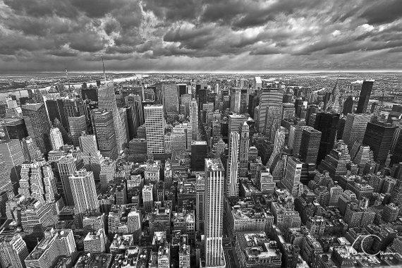 New York City Skyline Print Nyc Photo Wall Art Fine Art Etsy Photo Wall Art Aerial View Art Photography