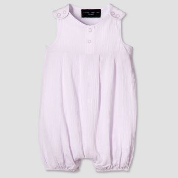 Target Baby Girl Clothes Baby Lilac Pleated Romper  Victoria Beckham For Target  1  Baby