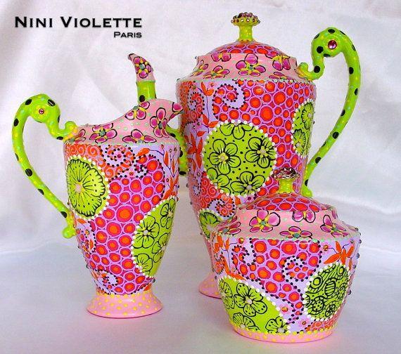 Happy Tea Set