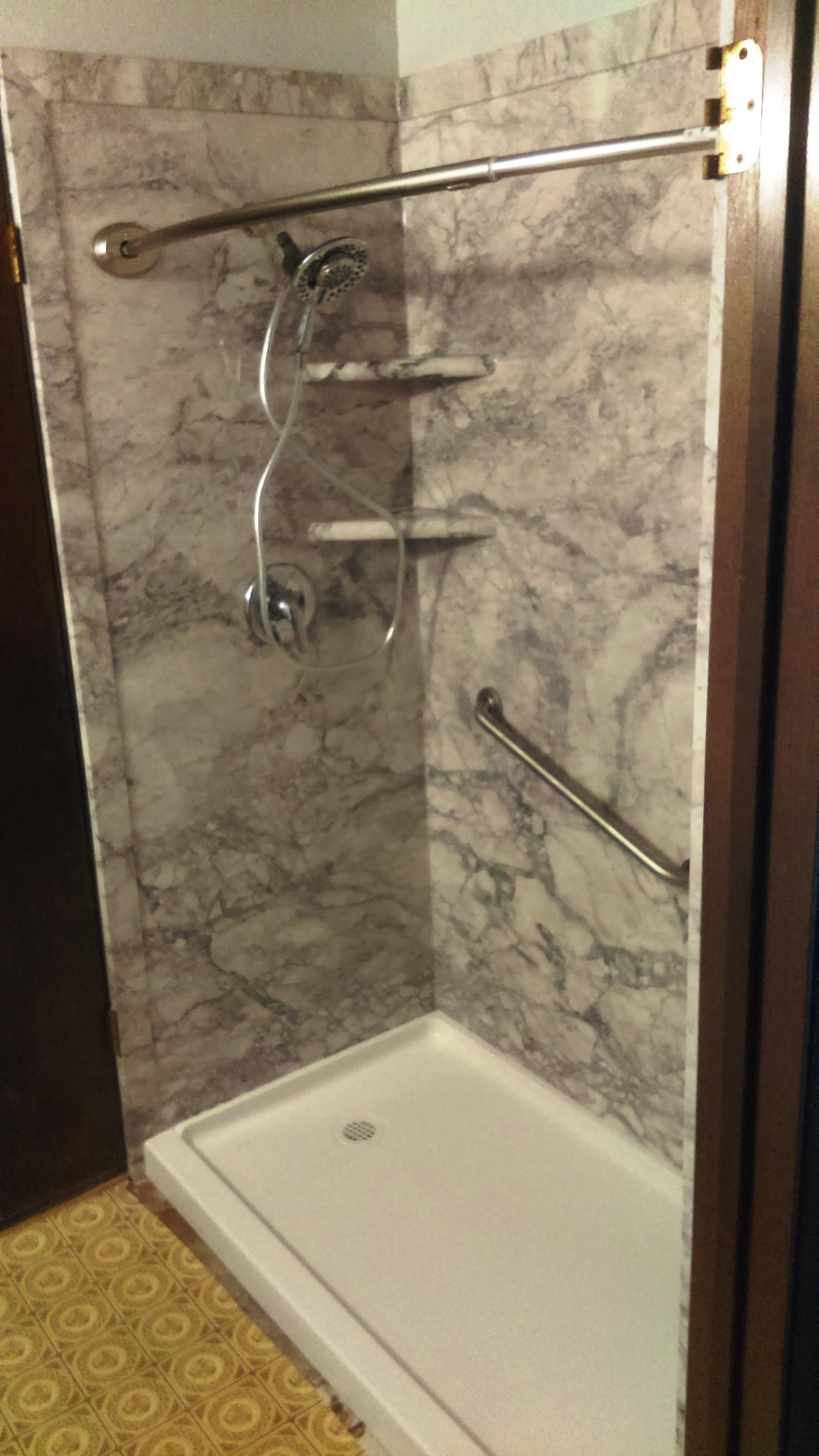 Tub To Shower Conversion After Shot With A Swanstone Base And Our Very Por Everest We Love Hy Customers Www Bathmanofidaho
