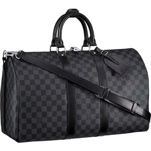 e21f70c6a2d1 Louis Vuitton Damier Graphite Keepall 45 -- future gym bag for when I m rich .