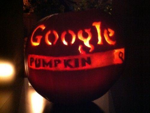 Beau Google Pumpkin