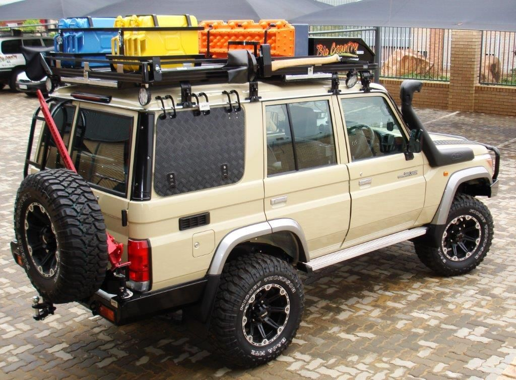 Back Radal And Tire Overland Vehicles Land Cruiser Toyota Land Cruiser