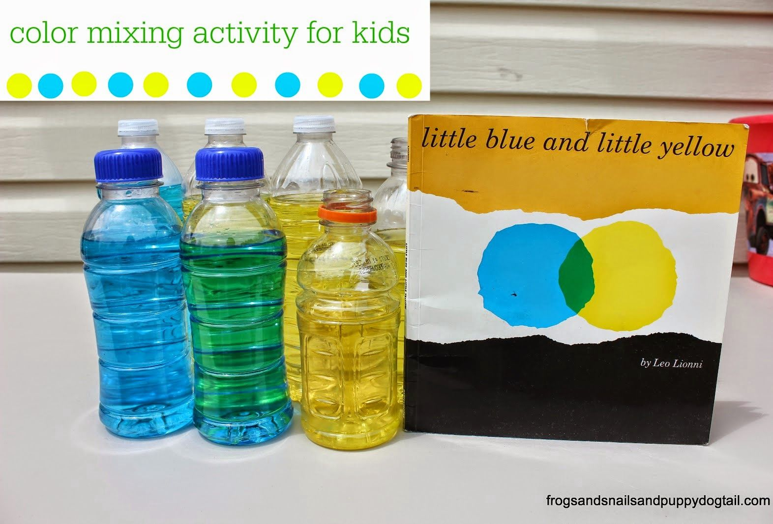Little Blue And Little Yellow Color Mixing Activity For