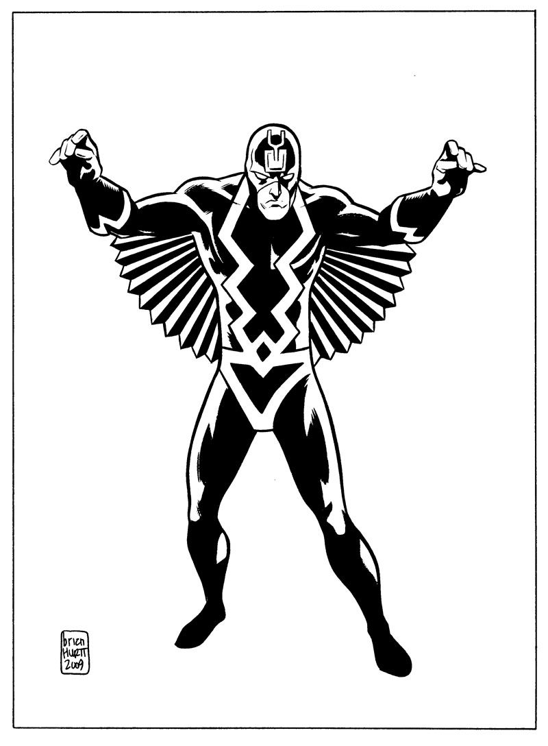 Black Bolt - Brian Hurtt | Enmascarados | Pinterest | Enmascarado