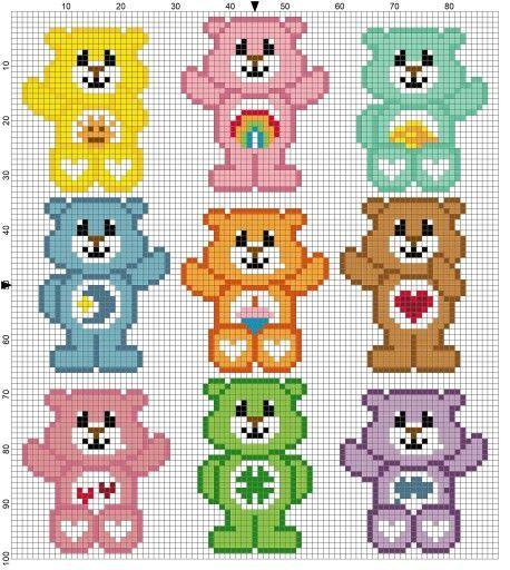 Zählmuster                                                       … #crochetbear Zählmuster                                                       … #crochetbear
