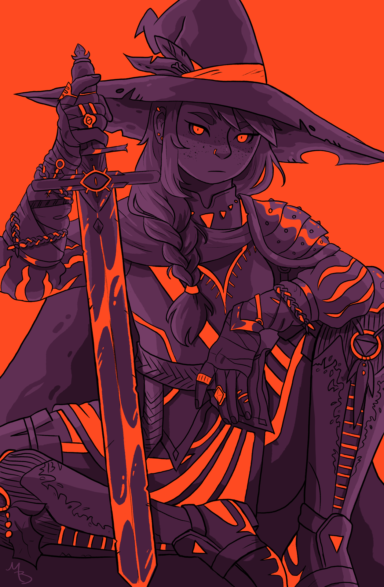 ᕦ(ò óˇ)ᕤ Photo (With images) Autumn witch, Illustration