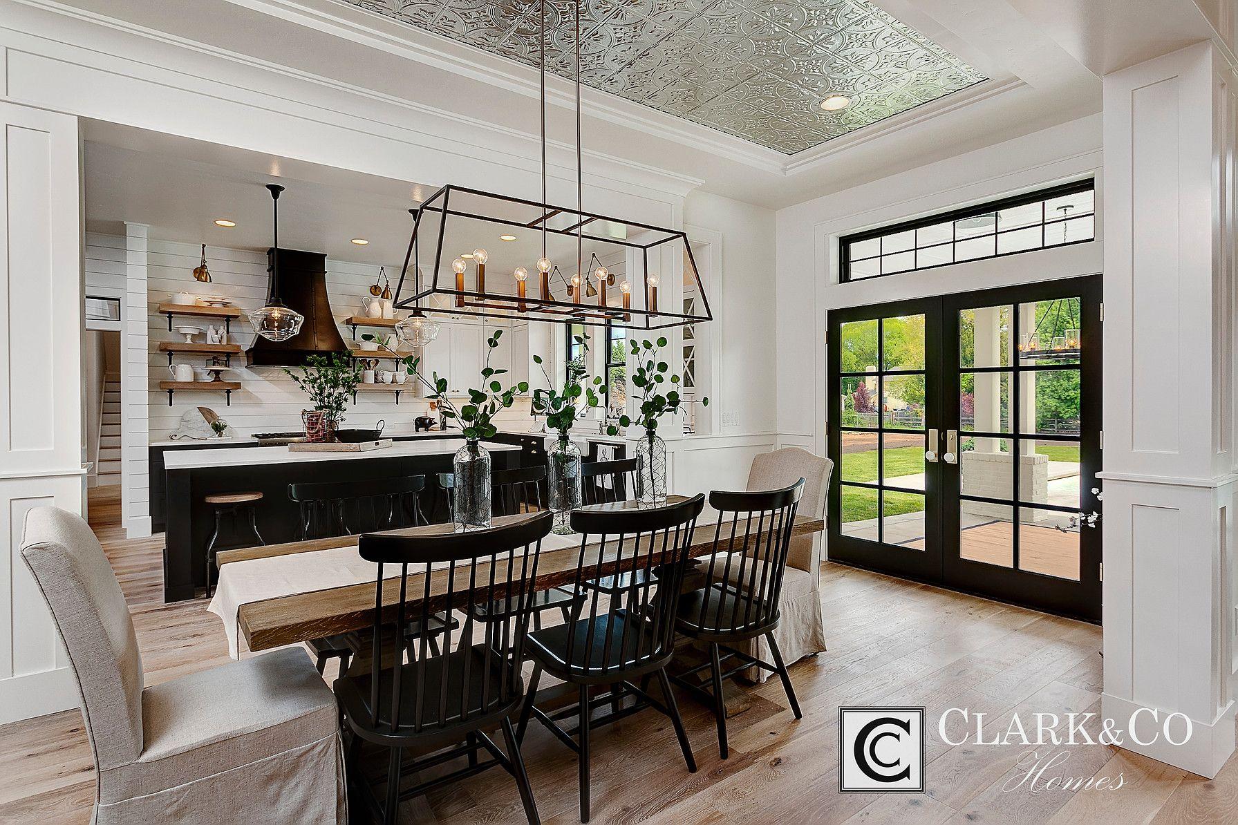 Clark & Co Homes 2016 Spring Model Home Modern farmhouse