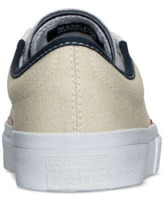 8d6d65bb6ee3ed Converse Men s Chuck Taylor All Star Crimson Ox Casual Sneakers from Finish  Line - White 11.5