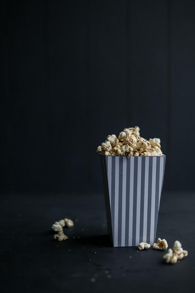 Sweet & Salty Nori Popcorn | Jet & Indigo