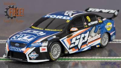 Scalextric Ford Falcon V8 Supercar Van Gisbergen C3321 Slot Car Front Slot Cars Super Cars Slot Car Racing