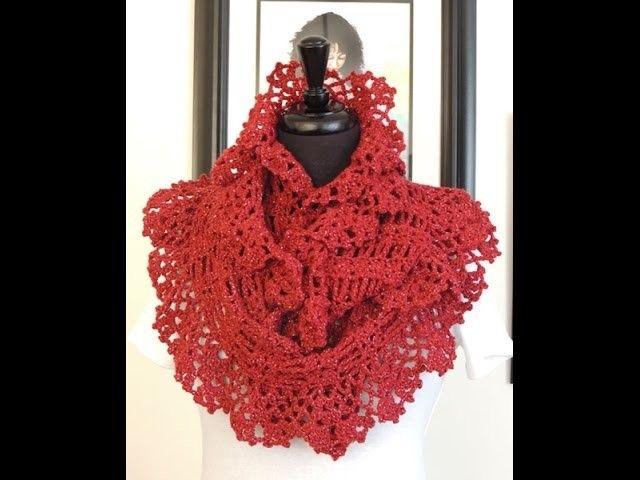 Crochet: Bufanda Elegante Infinita # 7 | Crochet | Pinterest ...
