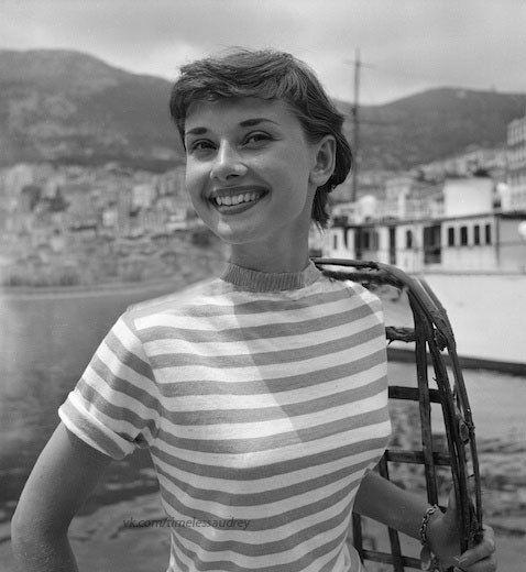 Audrey Hepburn photographed by Edward Quinn
