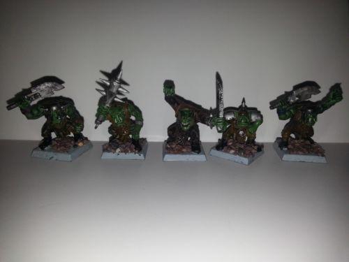 Warhammer Fantasy Army Orcs Goblins Orcs 415 Ebay Warhammer Fantasy Battle Fantasy Battle Warhammer Fantasy