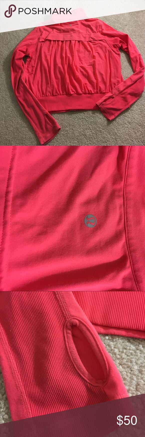 Lululemon Tadasana mesh jacket Super cute pink Lululemon ...