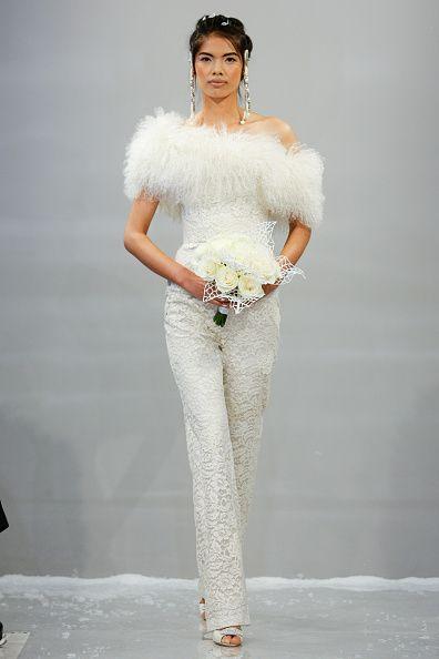 Abito Da Sposa Pantaloni Inverno 2015 Theia Abiti Da Sposa Abiti Da Sposa Bianchi Abiti Da Sposa Invernali
