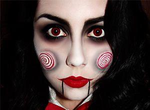 maquillaje artistico para mujeres halloween Buscar con Google