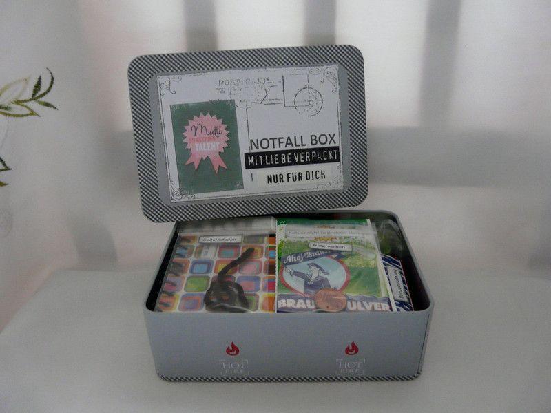 Geschenke für Frauen - Geschenk Geburtstag Mann Frau Notfall-Box ...