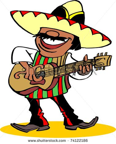 mexican guitar mariachi chili pepper clipart free clip art images rh pinterest com free clipart mexican food free mexican clip art borders