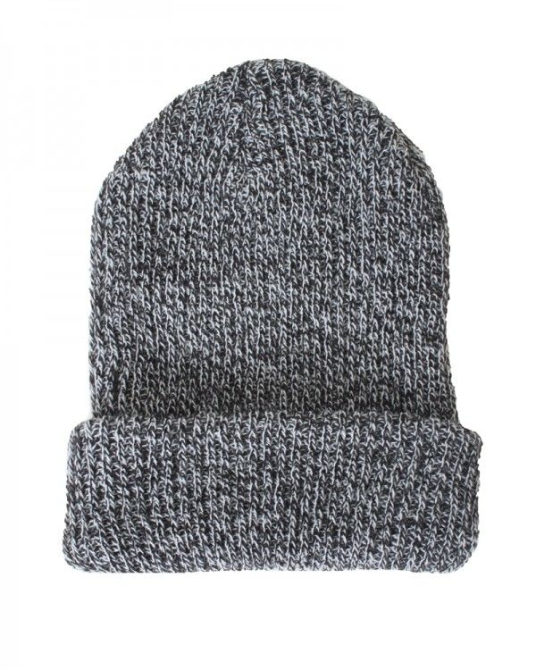D&Y Two Tone Marled Rib Knit Long Beanie Hat | Hats & Caps | Pinterest