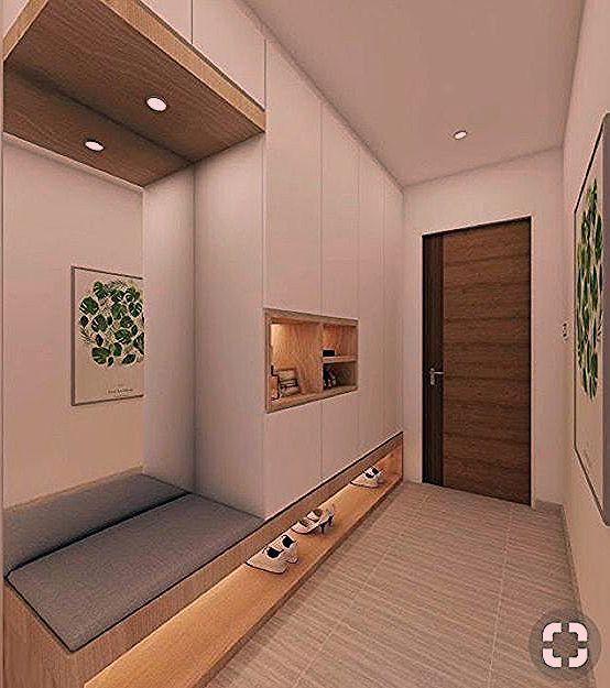 hallway entrance wardrobe flur eingangsbereich Home