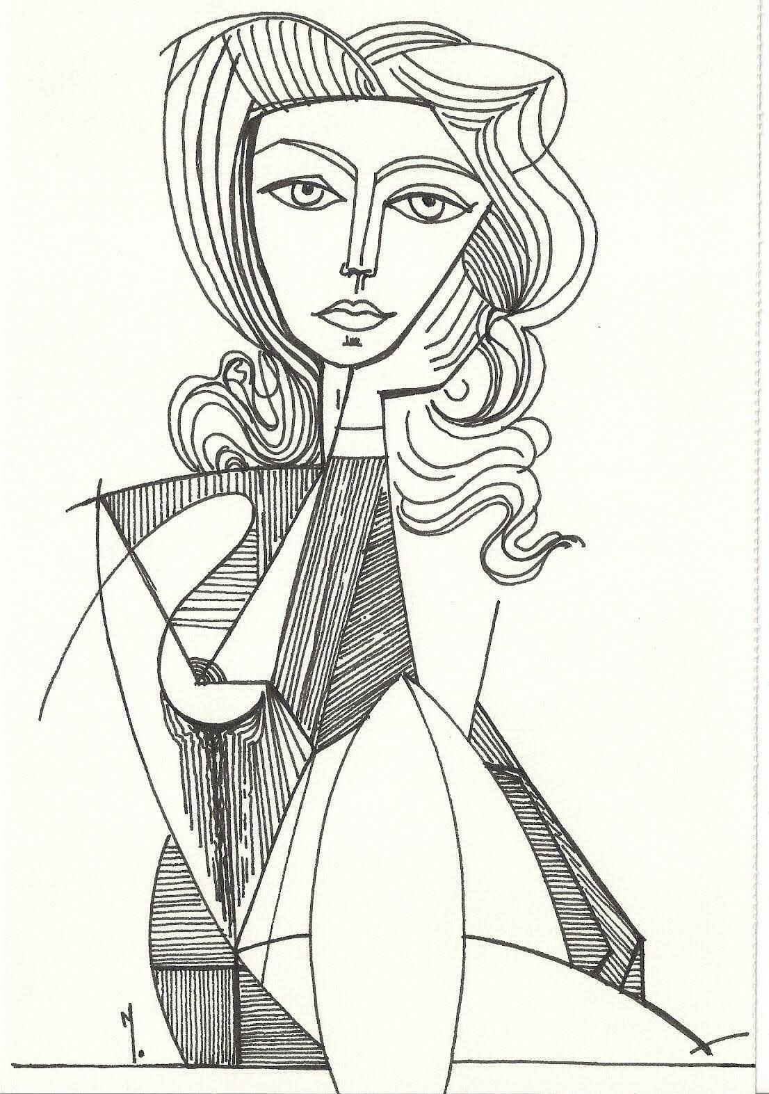 Épinglé par Bendou Youcef sur PABLO PICASSO en 2020 | Dessin picasso, Picasso, Dessin