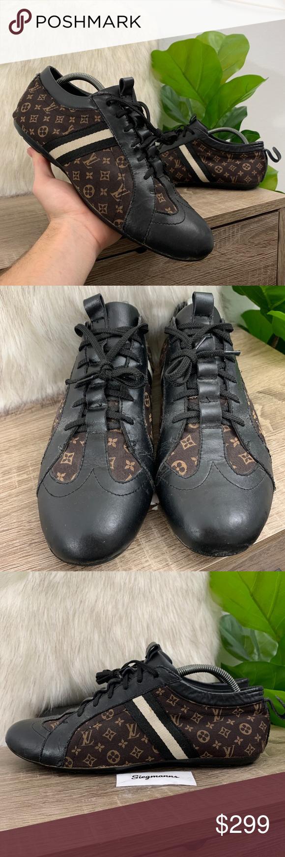 LOUIS VUITTON Vintage Shoes Brown