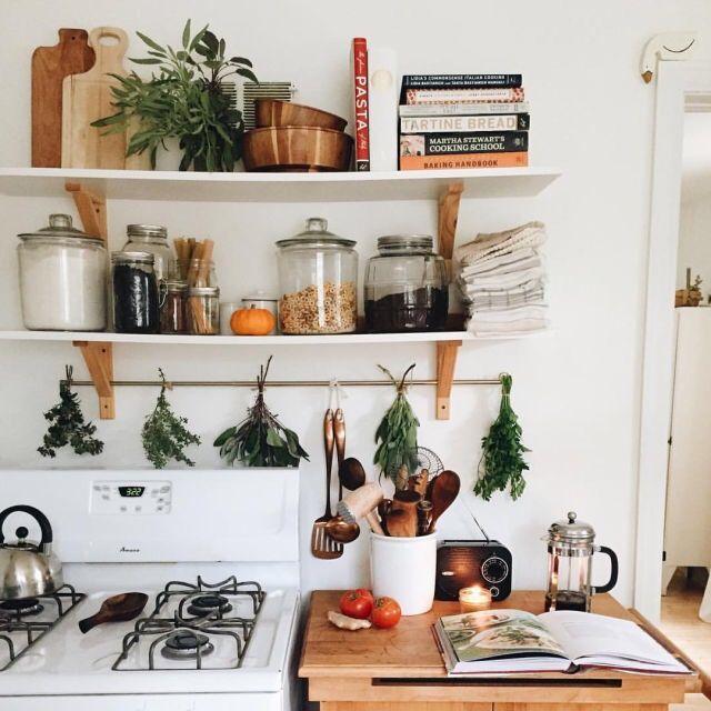 étagères ouvertes esprit rustique idée de cuisine cuisine condo cuisines de rêve espaces de vie inspiration déco ma maison idées pour la maison