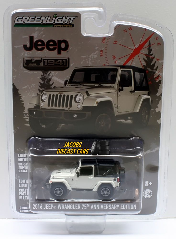 1 64 Greenlight Anniversary Collection Series 3 2016 Jeep