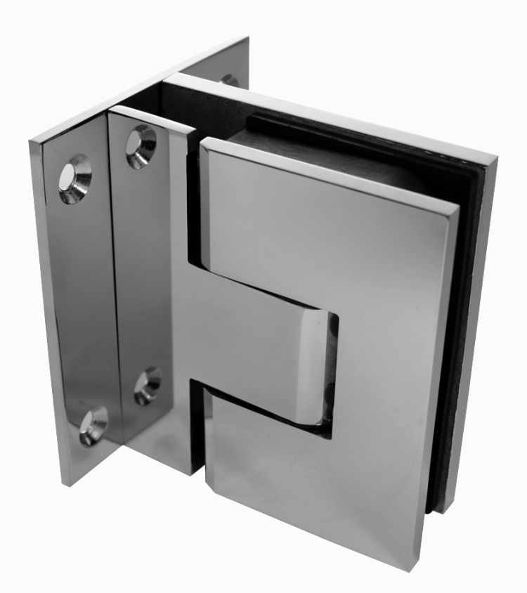 Premium Soft Close Hinges Polish Glass To Wall Hinge Set Pair Of 2 As A Glass Pool Fence Hinge It Is The Safest Glass Pool Fencing Diy Fence Pool Fence