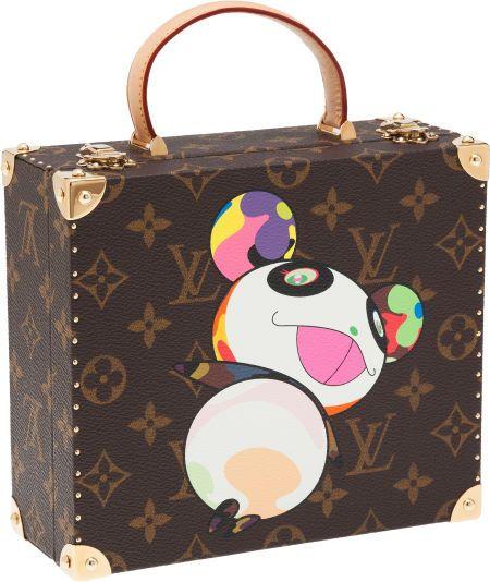 84eb6c9f1693 Louis Vuitton Limited Edition Takashi Murakami Jewelry Box. ... Image  1