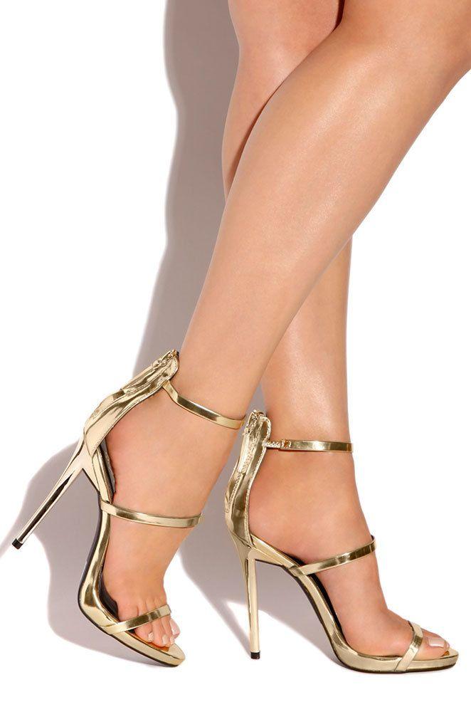 high fame gold open toe stilettos and women wear. Black Bedroom Furniture Sets. Home Design Ideas