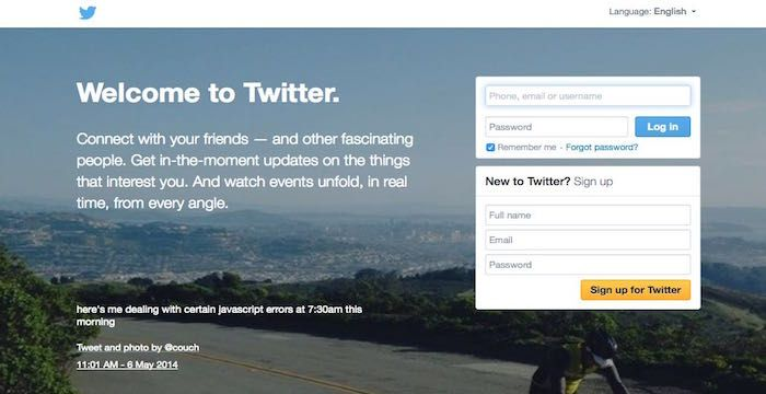 Twitter.com Email