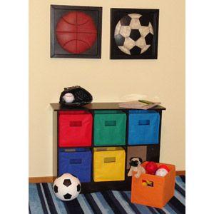 RiverRidge Kids - 6-Bin Storage Cabinet Espresso $89.88  sc 1 st  Pinterest & RiverRidge Kids - 6-Bin Storage Cabinet Espresso $89.88   Kids ...