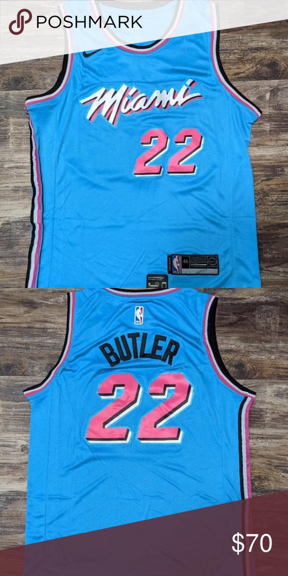 Jimmy Butler 22 Miami Heat Jersey Medium Brand New With Tags Nike Shirts Miami Heat Jersey Miami
