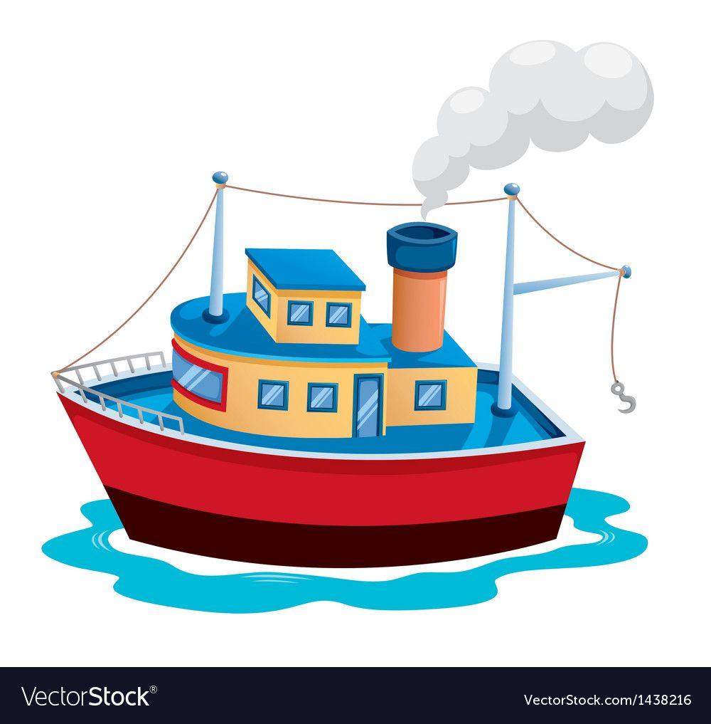 dc7022a1 Ship Royalty Free Vector Image - VectorStock   การ์ตูน   Ship vector ...