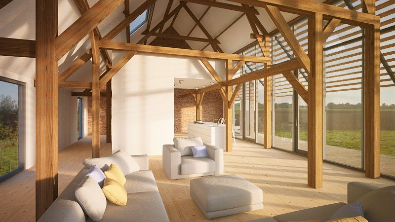 renovatie-woonboerderij-Sprundel-oude-stal-wordt-woonkamer-met ...