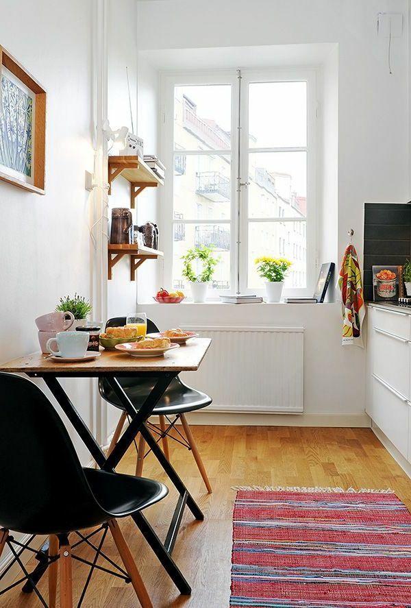 Kleine Räume einrichten - Nützliche Tipps und Tricks #apartmentkitchen