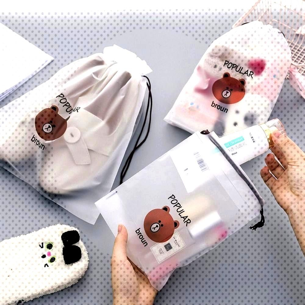 Cute Bear Printed Travel Cosmetic Bag Price: $ 7.95 & FREE ShippingWaterproof Cute Bear Printed Tra