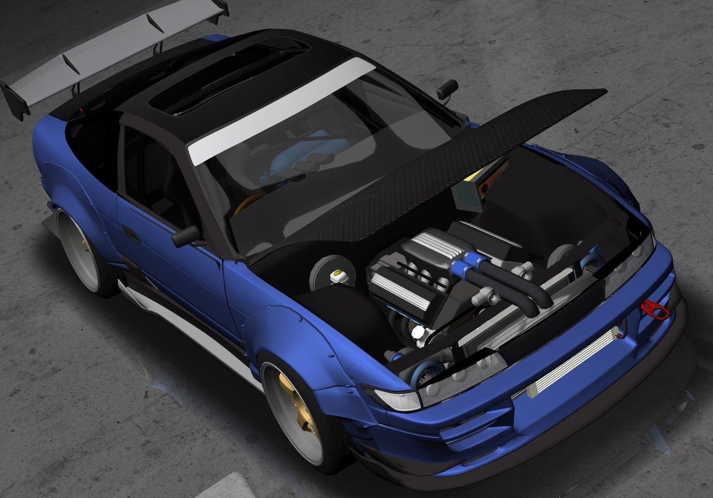 S Tuner Project (Nissan 240sx S13 Hatch) VG33DETT Custom