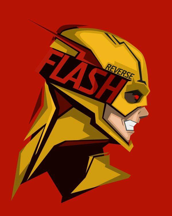 REVERSE FLASH Art by Bosslogic | DC | Pinterest | Personajes de dc ...