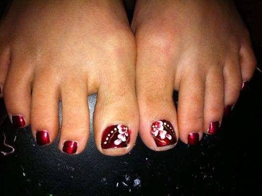 Toe Nail Art Designs Toe Nail Nails Pinterest Toe Nail Art