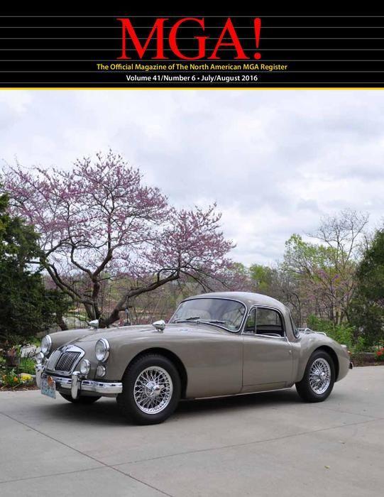 Tom's 1960 MG MGA 1600 Coupe (For Sale $27,500) AutoShrine
