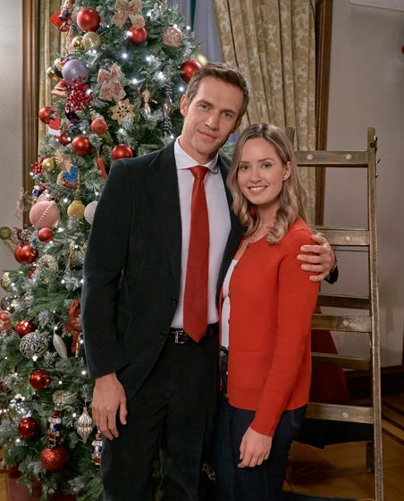 """Christmas at the Palace - a Hallmark Channel """"Countdown to Christmas"""" Movie starring Merritt ..."""