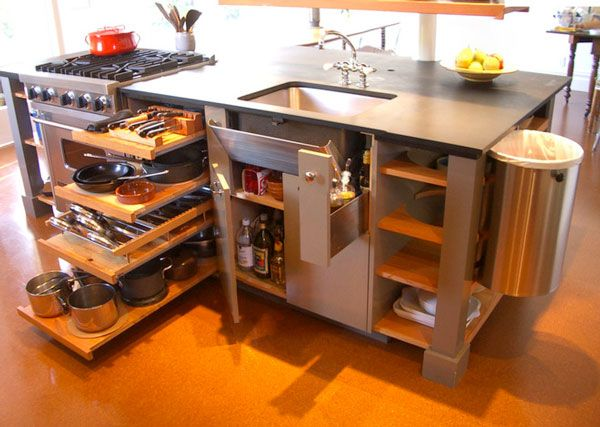 17 best tiny house kitchen and small kitchen design ideas space saving kitchen spaces and - Small house space saving ideas model ...