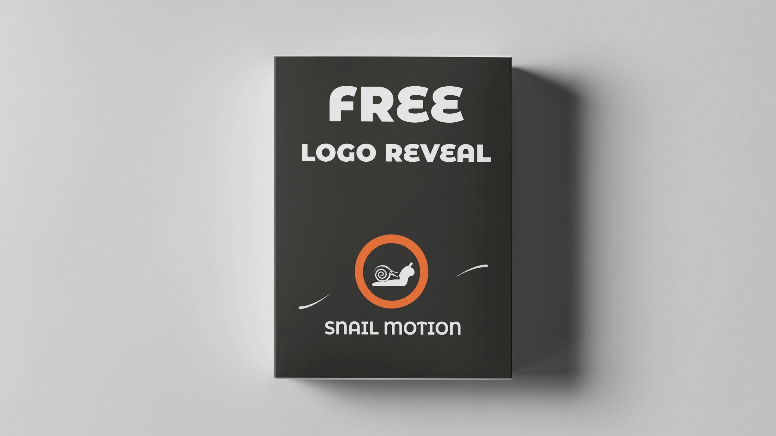 Free Logo Reveal for After Effect Snail Motion in 2020