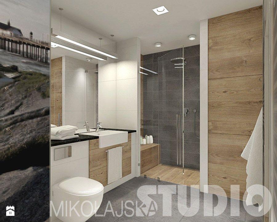 Łazienka - zdjęcie od MIKOŁAJSKAstudio bathrooms Pinterest