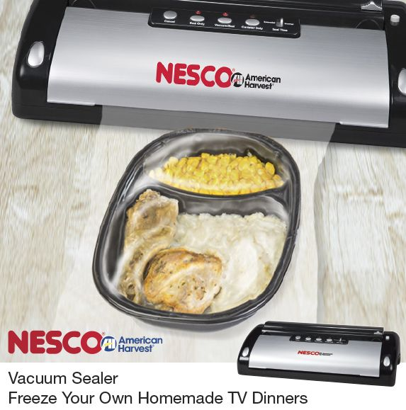 NESCO®: Roaster Ovens | Dehydrators | Small Appliances | Jerky Spices  | Freeze Your Own Homemade TV Dinner